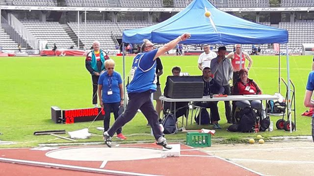 Αθλητισμός και... άλλα: Ασταμάτητος ο Βασίλης Μαγγανάς