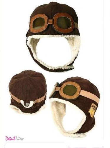Next Halloween she'll be a pilot Wool Aviator Hat on www.amightygirl.com