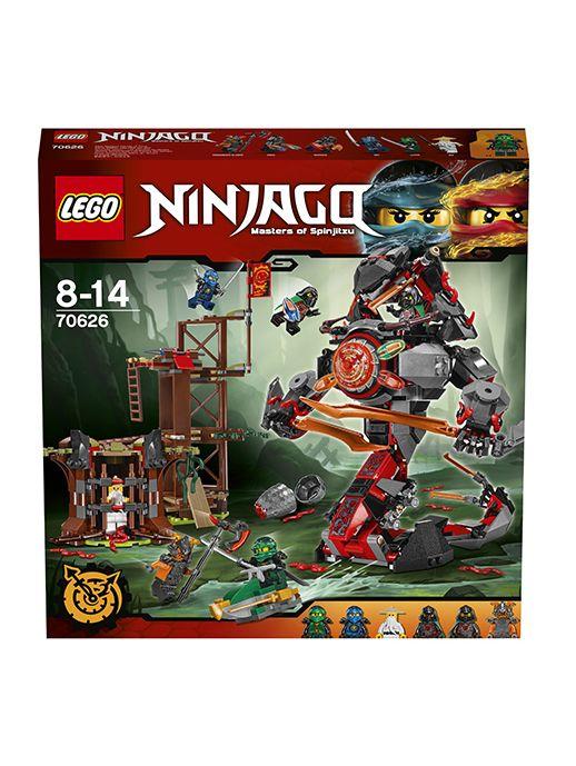 Lego Ninjago 70626 Железные удары судьбы