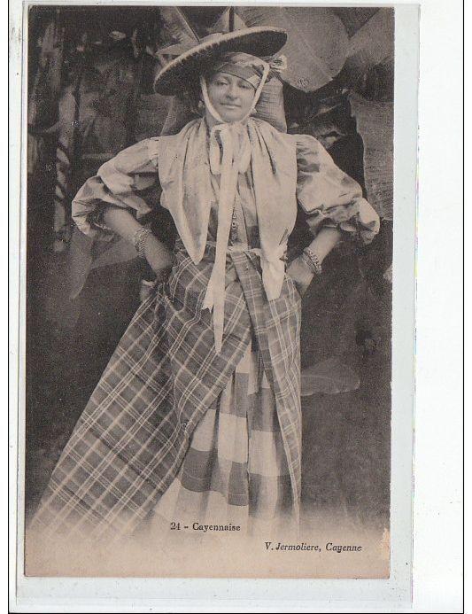 GUYANE - CAYENNE - Cayennaise - vers 1900