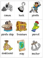 Free printables to accompany the book On a Pirate Ship