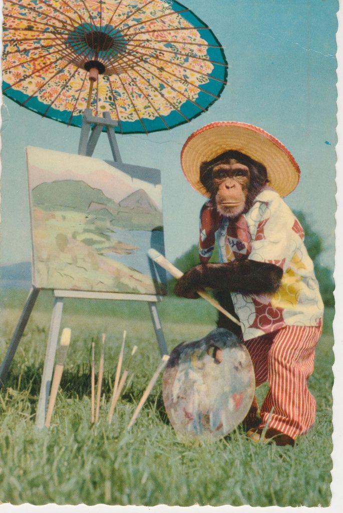 Henri Monktisse unveils his latest masterpiece.