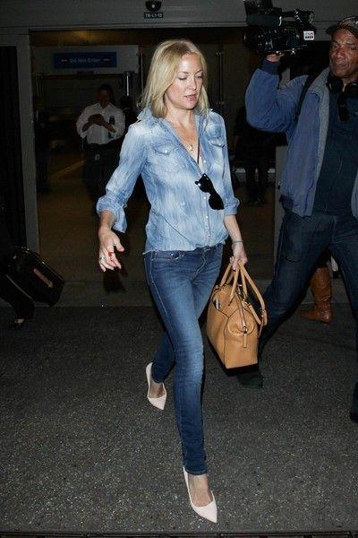 Kate Hudson seen at JFK.