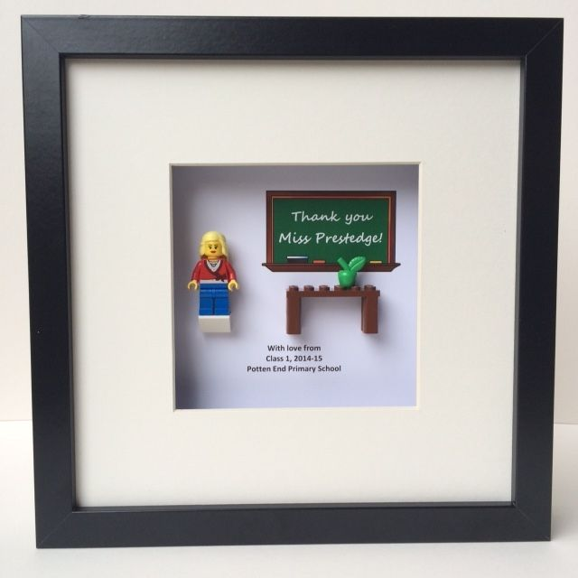 Lego® Teacher Thank You Picture