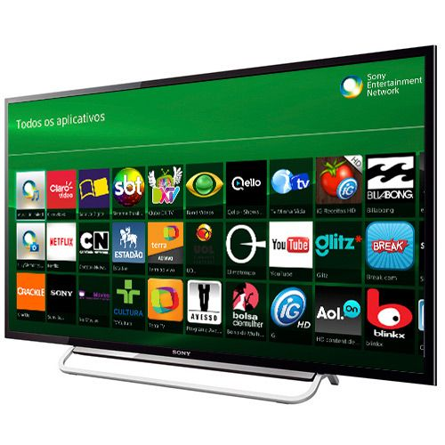 TV Sony LED 60, Full HD, Smart TV, Wi-fi integrado, Motionflow 480hz, X-Reality Pro