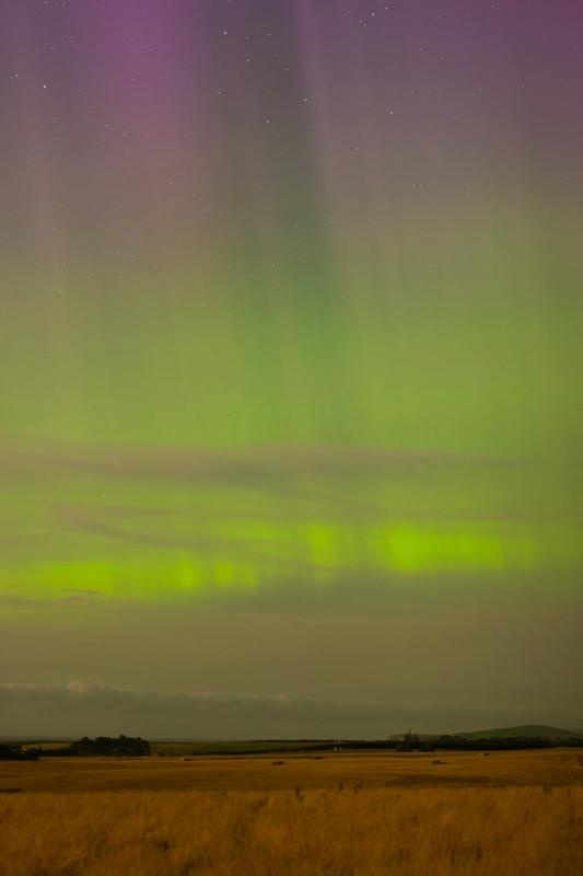 Southern Lights in Oamaru New Zealand  Now there's something you don't see every day.