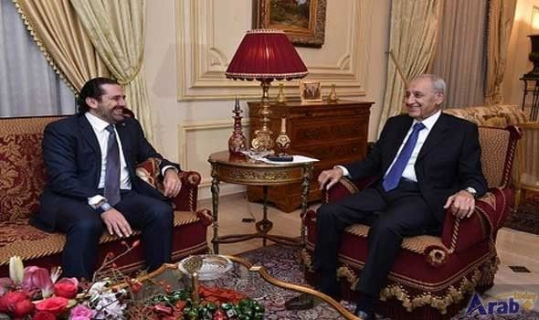 Hariri Meets Berri and Daryan, Says Arab States 'Inclined' to Back His 'Approach'