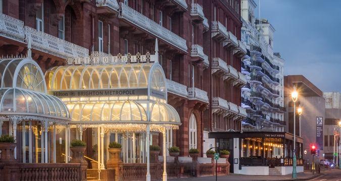 Hilton Brighton Metropole hotel - Exterior