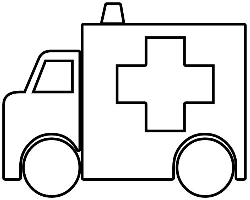 feed pictures ambulance clip art vector clip art online royalty free public - Ambulance Coloring Pages Print