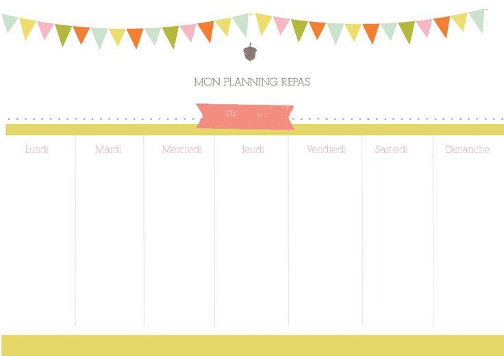 17 Best images about Planning - Calendrier on Pinterest   Pastel, Desk ...