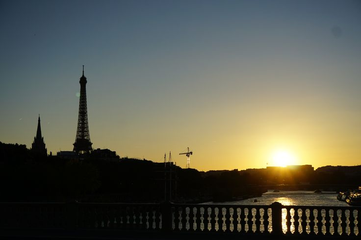 Paris in love with Eiffel tower