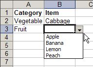 Create Dependent Drop Down Lists