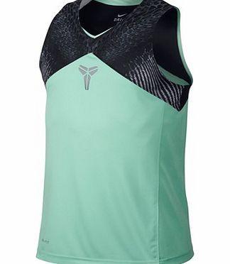 Nike Kobe Coil Sleeveless Tank - Medium Nike Kobe Coil Sleeveless Tank - Medium Mint/BlackSUPERIOR VENTILATION AND SIGNATURE STYLETheKobe Coil Sleeveless Mens Basketball Shirt features mesh panels and sweat-wicking fabric for breathabilit http://www.comparestoreprices.co.uk//nike-kobe-coil-sleeveless-tank--medium.asp