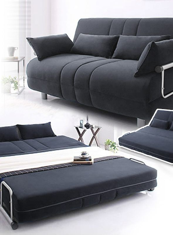 Helsingborg Sofabed Dark Gray In 2020 Sofa Bed Furniture Bed