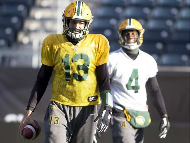 Eskimos QB Mike Reilly creates relationships with receivers on and off the field