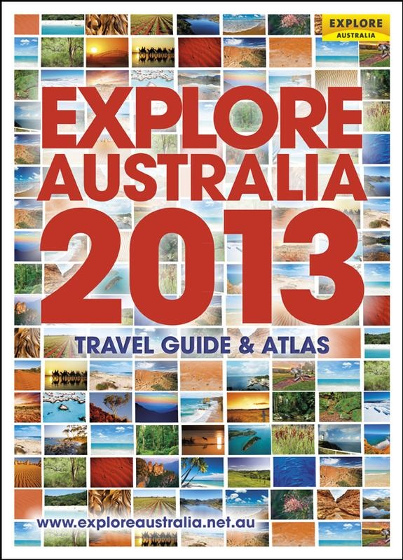 We're thrilled to announce that EXPLORE AUSTRALIA 2013 came out today. Start your Aussie holiday planning engines.