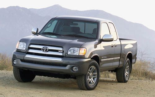The 2000-2006 Toyota Tundra. Lacks some of the character of its American counterparts but what a great truck. The styling is timeless-it never looked great but it'll always look good.