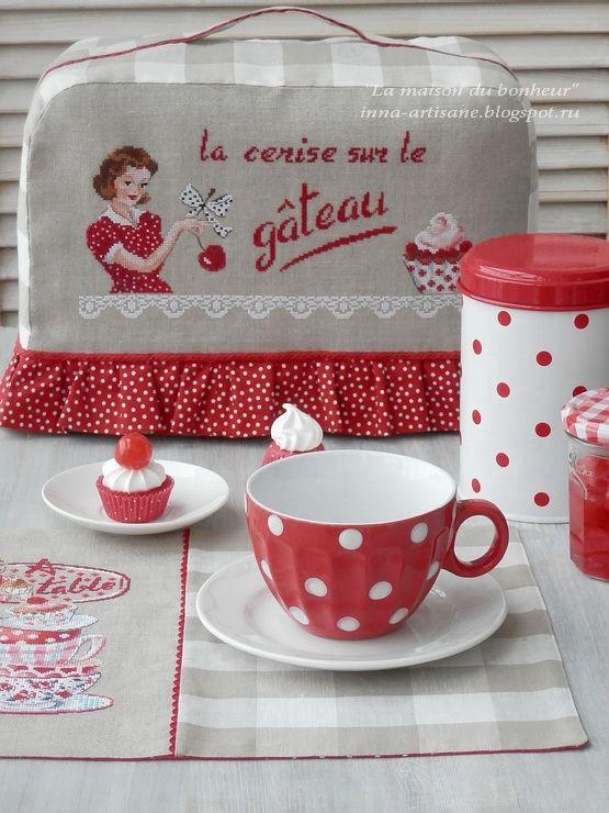 La maison du bonheur: Les Parisiennes Brodeuses Veronique Enginger A table!