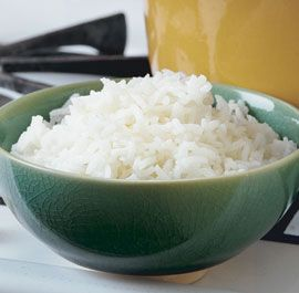 Cooking rice.  I make mine with chicken stock and freeze into mini-muffin tins. I then stick them into a freezer bag and store in the freezer. I sick one into Jordan's salad every morning and by lunch it is thawed and ready to eat on his salad!