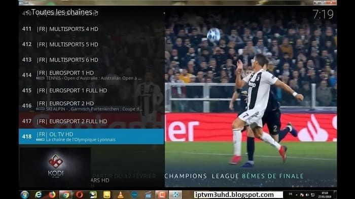 Free Iptv Channels M3u Playlist France Vlc Player Playlist Channel Sports Channel