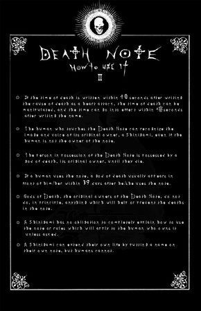 Page 2: DEATH NOTE by Leustante