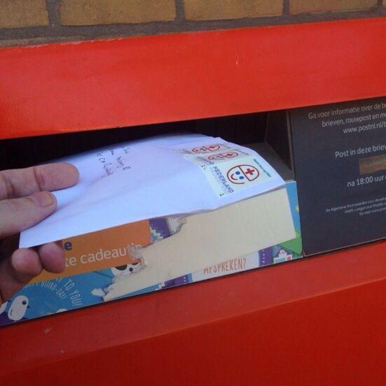 """""""e"""" post onderweg voor doodziek kindje +:)"""