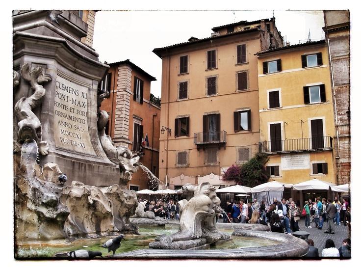 Piazza della Rotanda - Pantheon - Rome - Italy