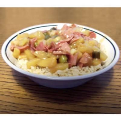 Ham and Pineapple DinnerPineapple Recipes, Hams, Pineapple Dinner, Rice Dishes, Food And Drinks, Dinner Recipes, Pineapple Rice, Recipes Dinner, Pineapple Dishes