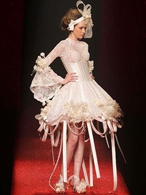 Ugly wedding dress of the day