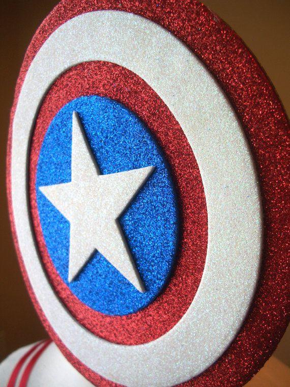 Captain America Costume Tutu Dress por JustaLittleSassShop en Etsy