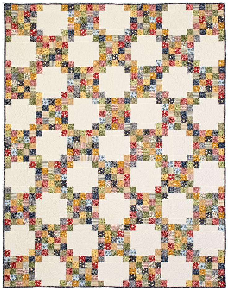 Bandana Chain Quilt - Irish Quilts