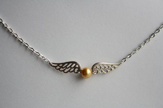 Harry Potter Hogwarts Quidditch Golden Snitch by BigfootSuzie, $10.00