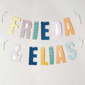 Buchstaben für Girlanden 14cm - idee. Online-Shop #Rico Design #Party #Partydekoration