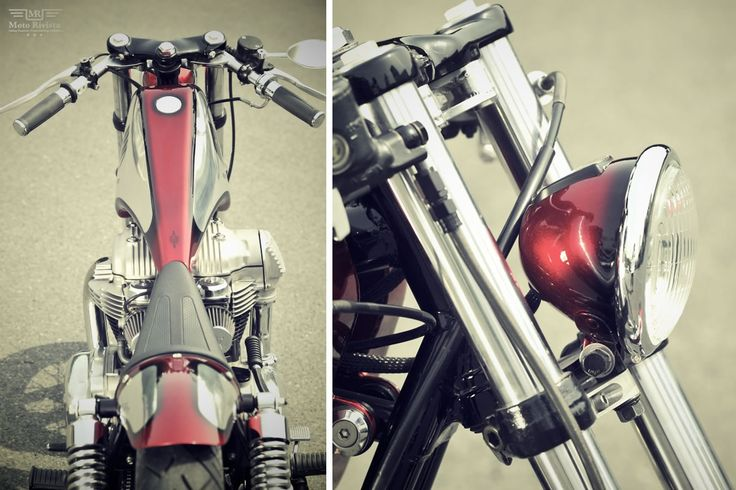 Kawasaki W650 classic Bobber tranformation by Kid Custom Factory - Moto Rivista