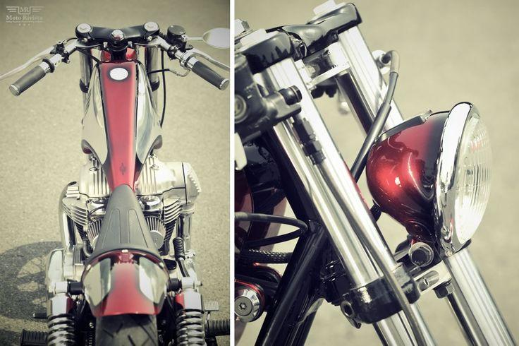Kawasaki W650 classic Bobber tranformation by Kid Custom Factory - Moto Rivista
