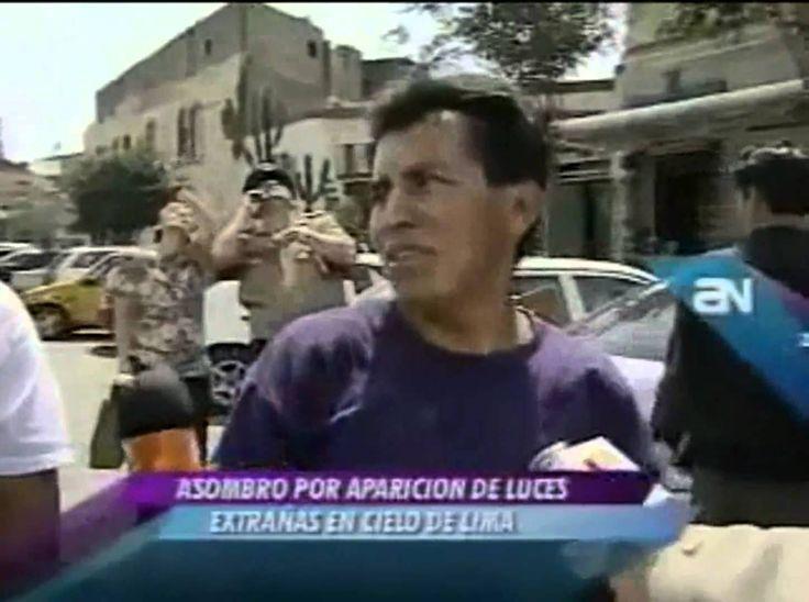 La prueba de que existen Ovnis (Sucedio en Peru)