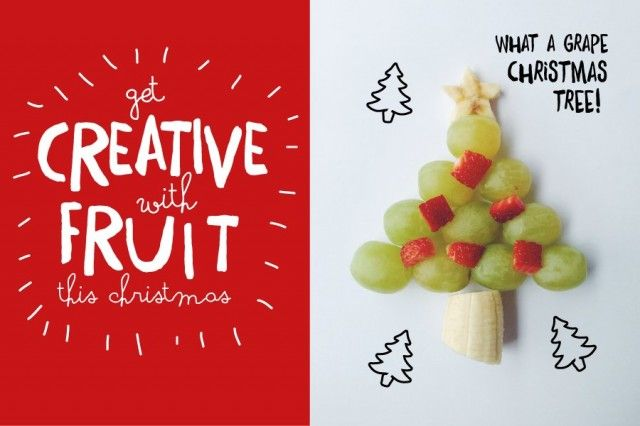 Get creative with Christmas snacks