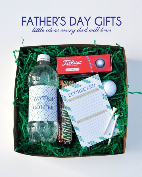 Golf gift pack - father's day