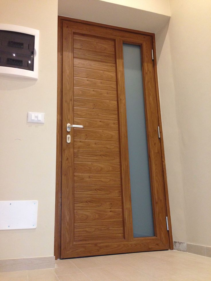 #Porta #Ingresso in #PVC #Oknoplast #Ospedaletti | www.gallisrl.eu