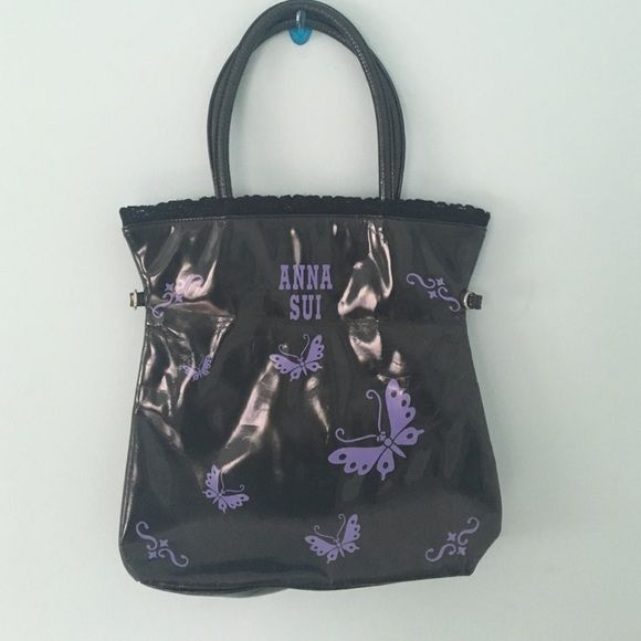 | new | • Anna Sui Black Leather Butterfly Bag • Description coming soon! ✨ Anna Sui Bags Shoulder Bags