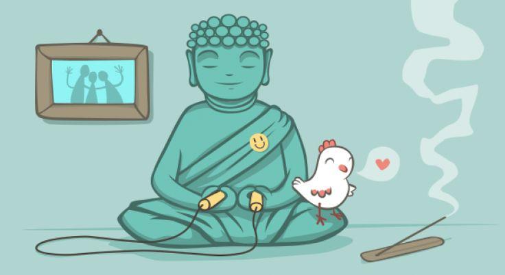 """Jedna kura mówi do drugiej: """"Chcę być szczęśliwa"""". Na to słyszy: """"To bądź"""". W świecie ludzi nie jest to takie proste, ale wszystko wskazuje na to, że osoby szczęśliwe kultywują pewne nawyki, które pomagają im zachować optymizm na co dzień."""