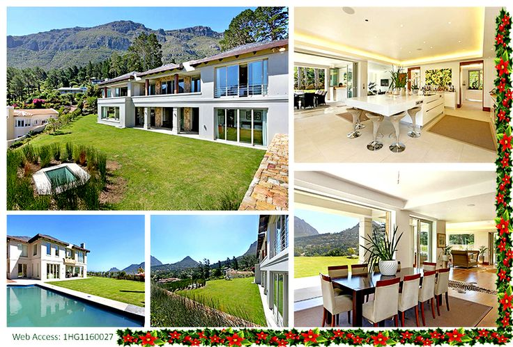 This beautiful mansion is located in Hout Bay, Cape Town, South Africa! Click the image for more information!
