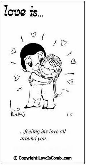 Love is... Comic for Sun, Oct 28, 2012