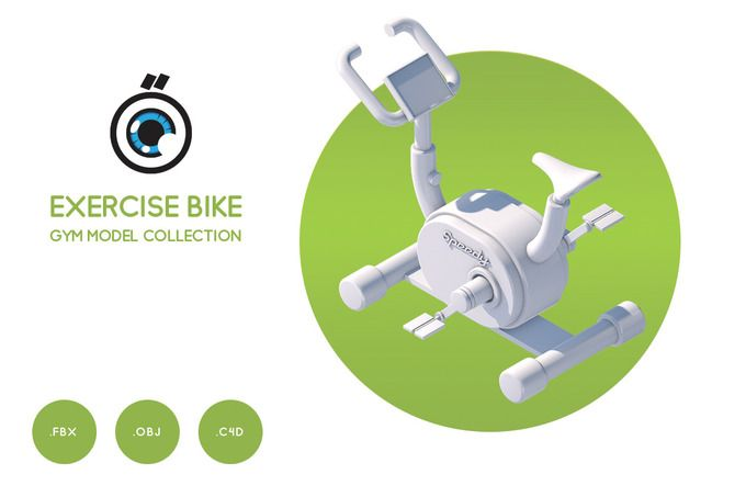 Exercise bike  by Graphicshop on @creativemarket