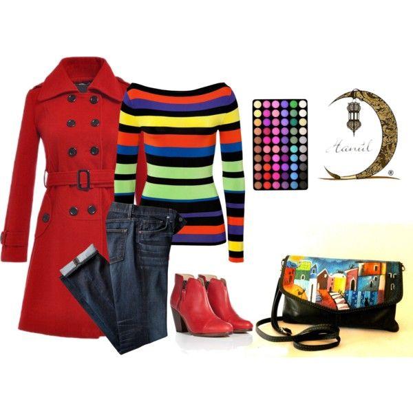 """""""Borsa dipinta a mano Borgo dei gatti"""" Nuova #borsadipinta a mano http://hanulstyle.com/prodotto/ba95-pochette-dipinta-a-mano-borgo-con-gatti-hanul/  #madeinitaly  #fashion #handmade #verapelle"""