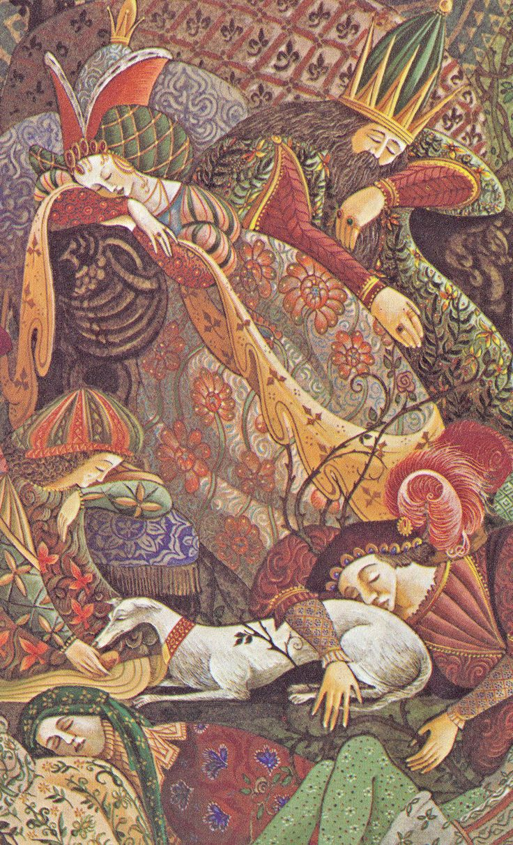 sleeping beauty, errol le cain