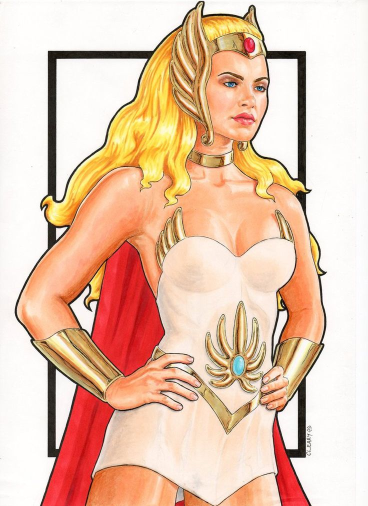 Assured, Cartoons she ra princess power something is