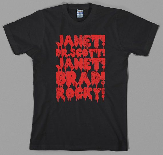 Rocky Horror Shirt picture show janet brad dr. by TheGoreKitten