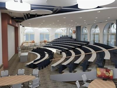 Birmingham-Lecture Space with Breakout areas