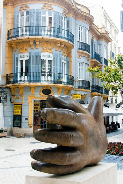 Need a hand? Malaga, Spain by ntalka, via Flickr. Our tips for things to do in Malaga: http://www.europealacarte.co.uk/blog/2010/08/22/malaga-travel-tips-best-things-to-do-in-malaga/